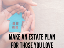 Make an estate plan