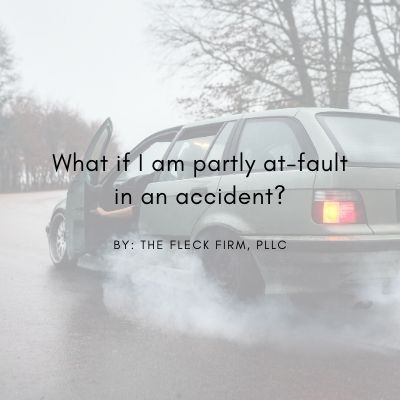 What if I am partly at fault in an accident