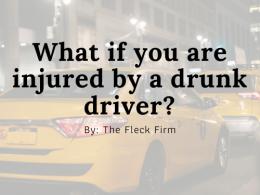 Injured Drunk Driver Attorney