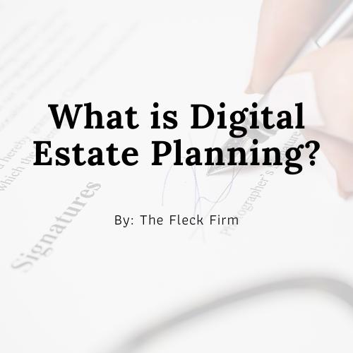What is Digital Estate Planning