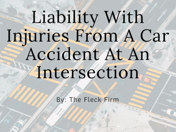 Car Accident Lawyer Intersection Accident